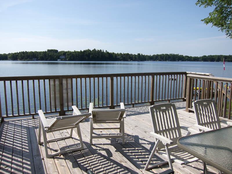 NOW SOLD. Newly-built cottage on Sparrow Lake plus Boathouse listed at only $379,000!